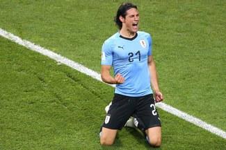 Uruguay vs. Portugal: Edinson Cavani pone el 1-0 en Mundial Rusia 2018 [VIDEO]