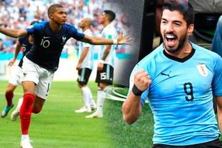 Uruguay vs Francia: día, hora y canal del partidazo por cuartos de final del Mundial Rusia 2018