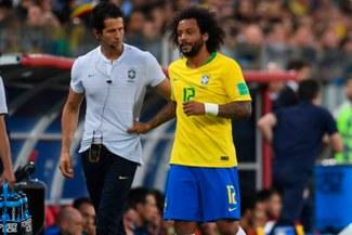 Rusia 2018: Marcelo será baja en Brasil ante México por los octavos de final