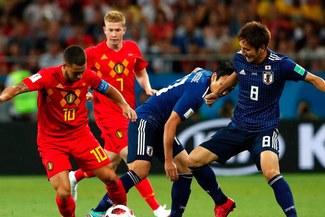 Bélgica venció a Japón por 3-2 y accedió a los cuartos de final del Mundial Rusia 2018
