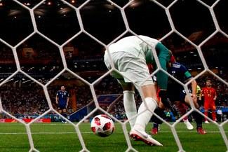 Bélgica vs. Japón: Thibaut Courtois y el blooper que casi le cuesta el primero para los 'Red Devils' [VIDEO]