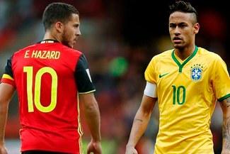 Brasil vs Bélgica: fecha, hora y canal del partidazo por cuartos de final del Mundial Rusia 2018