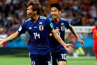 Bélgica vs Japón: Takashi Inui y la pinturita para el 2-0 a favor de los 'nipones' [VÍDEO]