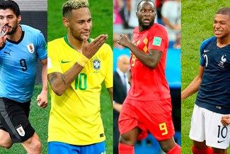 ¡Vamos Sudamérica! Uruguay enfrenta a Francia y Brasil a Bélgica en busca del pase a las semifinales
