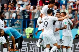 Francia ganó 2-0 a Uruguay y aseguró su pase a las semifinales del Mundial [RESUMEN Y GOLES]