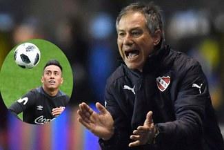 DT de Independiente reconoció a Christian Cueva como prioridad de fichaje