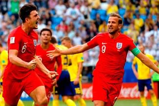 Inglaterra vs Suecia: el gol de Maguire para el 1-0 por cuartos de final de Rusia 2018 [VIDEO]