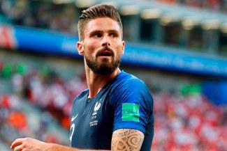 """Giroud y su fulminante aviso a Courtois: """"Le anotaré este martes"""""""