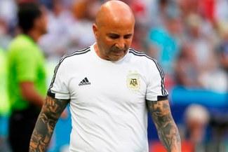 Jorge Sampaoli no seguirá como entrenador de Argentina, según medios de ese país