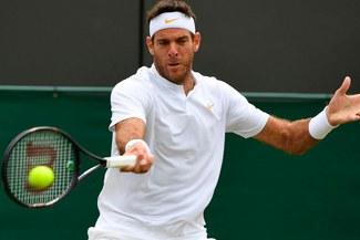 Del Potro venció a Simon y clasificó a cuartos de Wimbledon 2018, donde se medirá a Nadal