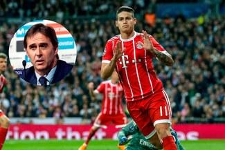 Lopetegui conversó con James para que el plan 'De vuelta a Madrid' continúe en marcha