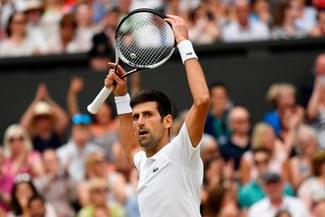 Novak Djokovic venció 3-2 a Rafael Nadal y accedió a la final de Grand Slam Wimbledon