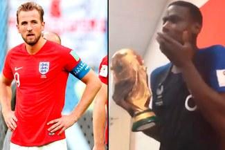 Paul Pogba 'trolea' a Inglaterra luego de campeonar en Rusia 2018 [VIDEO]