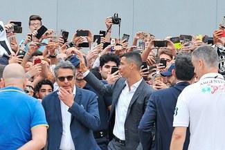 Presentación de Cristiano Ronaldo a la Juventus EN VIVO este lunes