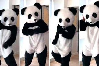 Jugador francés celebró el título de su país bailando vestido de panda [VIDEO]