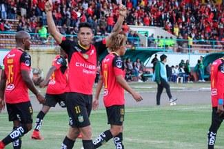 Deportivo Cuenca empató 2 - 2 frente a Jorge Wilstermann por la Copa Sudamerica [RESUMEN Y GOLES]
