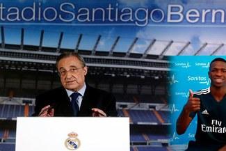 Presentación en Real Madrid de Vinicius Jr. EN VIVO ONLINE: Horario, canal TV, Internet y transmisión de la ceremonia en España