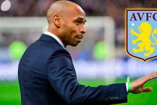 Thierry Henry cerca de convertirse en entrenador del Aston Villa [FOTO]