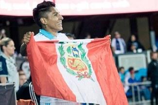 """Raúl Ruidíaz: """"Me llena de mucha alegría poder convertir y que el equipo haya ganado"""""""