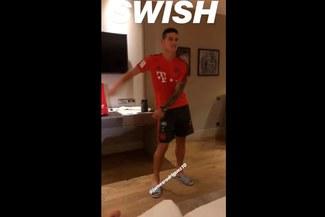 James Rodríguez deleita a seguidores con famoso baile en pretemporada del Bayern Múnich [VIDEO]