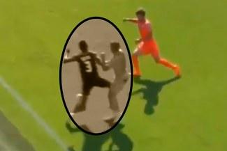 Cristian Benavente tuvo tremendo altercado en goleada del Sporting Charleroi [VIDEO]