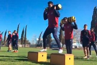 Miguel Araujo realizó su primer entrenamiento en Talleres de Córdoba [VIDEO]