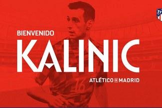 Niko Kalinic fue presentado en el Atlético tras dejar AC Milán