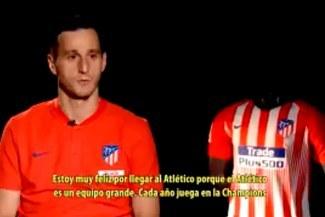 """Nikola Kalinic: """"Estoy muy feliz por llegar al Atlético porque es un equipo grande"""" [VIDEO]"""