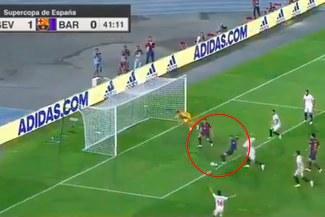 Barcelona vs Sevilla: Gerard Piqué pone el 1-1 tras gran tiro libre de Lionel Messi [VIDEO]