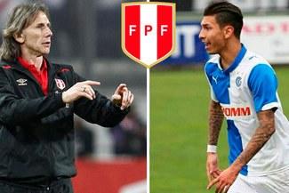 Selección Peruana: Ricardo Gareca tiene en la mira a Jean Pierre Rhyner para amistosos