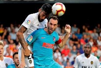 Atlético de Madrid empató 1-1 ante Valencia en inicio de Liga Santander