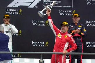 Fórmula 1: Sebastian Vettel se llevó el Gran Premio de Bélgica