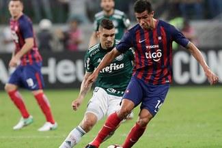 Palmeiras, a los cuartos de final de la Copa Libertadores pese a caer 1-0 ante Cerro Porteño