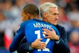 Didier Deschamps se refirió a la expulsión de Kylian Mbappé [VIDEO]