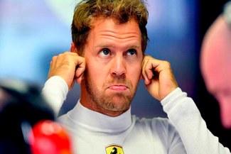 """Sebastian Vettel: """"Somos hombres, no niñas pequeñas. Lewis Hamilton no me dejó espacio"""""""