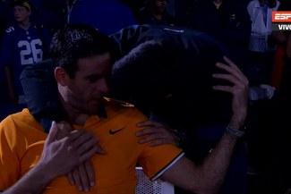 US Open: Del Potro estalló en lágrimas tras perder la final con Djokovic [VIDEO]