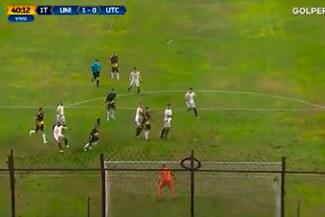 Alberto Rodríguez comete un grosero error y UTC empata 1-1 a Universitario [VIDEO]