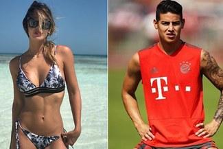 James Rodríguez fue captado con ex novia de Marc Anthony [FOTO]