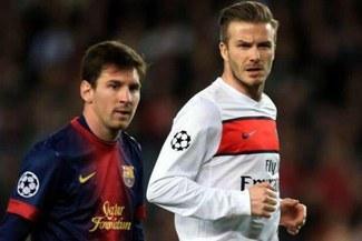 David Beckham sueña con Lionel Messi para jugar en su club de la MLS