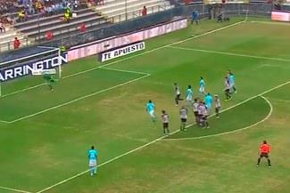 Emanuel Herrera metió un golazo de tiro libre para Cristal ante Alianza Lima [VIDEO]