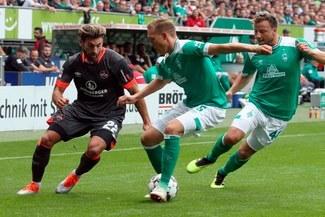 Werder Bremen empató 1-1 frente al Nuremberg por la fecha 3 de Bundesliga [RESUMEN Y GOLES]