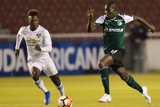 Deportivo Cali venció 3-1 en los penales a LDU de Quito y clasificó a los cuartos de final de la Copa Sudamericana [RESUMEN Y GOLES]