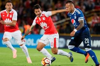 Santa Fe y Millonarios empataron 0-0 por los octavos de final de la Copa Sudamericana [RESUMEN]