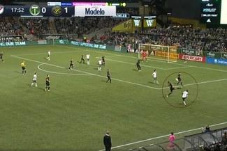 MLS: Espectacular asistencia de Andy Polo para 1-1 del Portland Timbers [VIDEO]