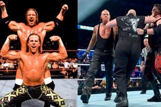 WWE: Shawn Michaels y Triple H vs. The Undertaker y Kane para Crown Jewel