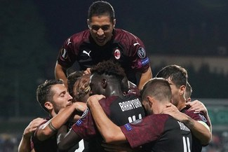 Milan venció por 1-0 al Dudelange con gol de Gonzalo Higuaín en la Europa League[VIDEO]
