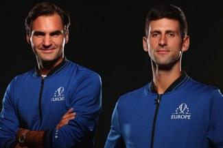 Roger Federer y Novak Djokovic jugarán juntos por primera vez en la historia