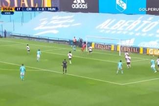 Sporting Cristal vs. Deportivo Municipal: gran jugada individual de Emanuel Herrera para el gol de Marcos López [VIDEO]