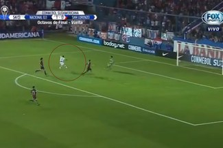 San Lorenzo vs Nacional: Gonzalo Bergessio anota 2-0 con el que clasifica el 'Bolso' [VIDEO]