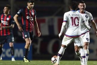Nacional venció 2 - 0 a San Lorenzo y lo eliminó de la Copa Sudamericana [RESUMEN Y GOLES]